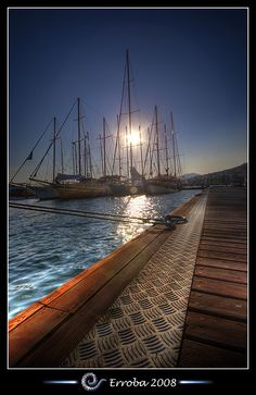Bodrum harbour, Turkey