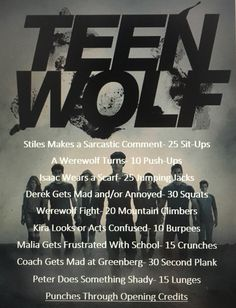Teen Wolf Workout