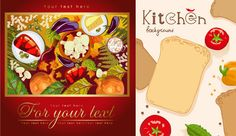 Food and vegetable posters Restaurant Poster, Spice Bread, Free To Use Images, Graphic Art, Vector Free, Spices, Photoshop, Clip Art, Vegetables