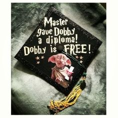 With graduation just around the corner and finals almost over its time to answer the biggest question yet… what will you decorate your cap with? Here we have a list of the top 15 Cap Designs to get your wheels turning and your inspiration brewing