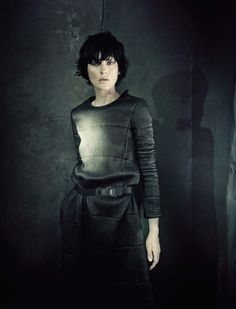 Stella Tennant by Paolo Roversi for Vogue Italia, September 2014 See more from this set here.