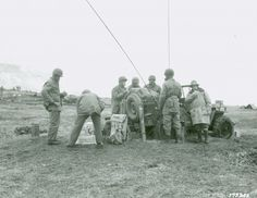 MAY 22 1943 A surprise from the US 7th Division artillery Div. Artillery Camp at Front Radios and Telephone on Jeep., Alaska, 1943. Attu, Alaska