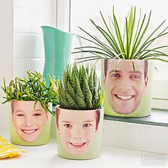 Picture-Perfect Planters- Fun for Mother's Day