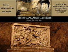 il #Mitreo dell'Ara Massima di #Ercole visita guidata  misteri e storia della Roma sotterranea