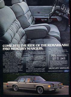 1980 Mercury Marquis Four Door Sedan