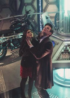 """"""" A New Still from the Day of the Doctor """" Doctor Who Clara, Matt Smith Doctor Who, First Doctor, Eleventh Doctor, Geronimo, Dr Who 11, Best Sci Fi Shows, Jon Pertwee, Science Fiction Series"""