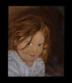 Retrato al óleo realizado por encargo  #arte #pintura #oleo #retrato #cuadro