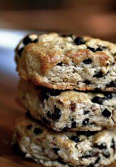 blackcurrant English scones