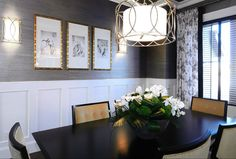 Dining Room ... Gray & Gold