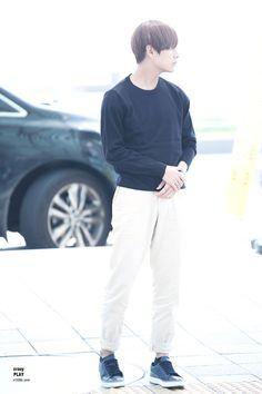 [AIRPORT] 150904: BTS V (Kim Taehyung) #bts #fashion #bangtan #bangtanboys #kpop #kfashion #kstyle #korean
