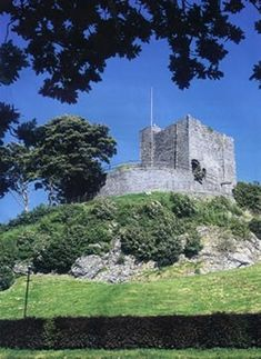 Clitheroe Castle, Lancashire, England is arguably the smallest Norman keep in England. It is also the only remaining castle in the county which had a royalist garrison during the English Civil War
