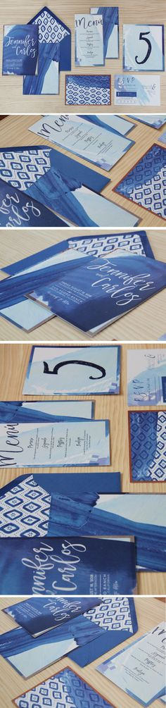 Design by Holyoke Paper Co.  creative studio specializing in wedding & event stationery