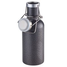 Stay Hydrated with the Troika Serengeti Water Bottle - Titanium Carbonated Drinks, Stainless Steel Bottle, Corporate Gifts, Plastic Bottles, School Design, Steel Gifts, Safe Food, Drink Bottles, Flask