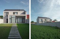 House Ivančice | CZE Home Fashion, Studios, Houses, Mansions, House Styles, Home Decor, Homes, Decoration Home, Room Decor