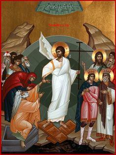 Christ Is Risen, Jesus Christ, Trinidad, Religious Icons, Orthodox Icons, Christianity, Religion, History, Anime