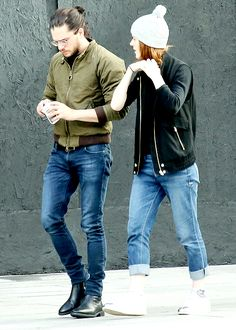Kit Harington and Rose Leslie out...