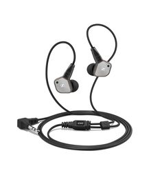 SENNHEISER IE 80, The IE 80 features high-fidelity stereo sound and high noise attenuation with an enhanced design. Encased in a brushed-metal housing and rugged, interchangeable cable, it is built for maximum robustness and flexibility.