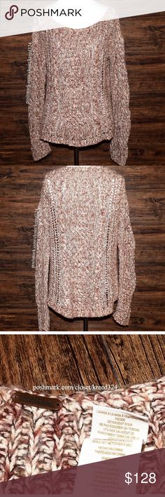 FREE PEOPLE Classic Sweater Top Bohemian Pullover Size Small. Great Condition.  $128 Retail + Tax.  • Beautiful long sleeve layering sweater featuring an intentionally fuzzy aspect & cable eyelet detailing throughout.  • Light pilling on fabric.  • No rips, stains, holes or tears.  • Size tag removed. • Fabric tag with RN # shown for authenticity.  • Measurements provided in comment(s) section below.  {Southern Girl Fashion - Closet Policy}   ✔️ Same-Business-Day Shipping (10am CT). ✔️ PRICE…