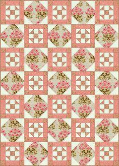 Philadelphia Pavement Quilt Block and Quilt Pattern: Make a Philadelphia Pavement Quilt