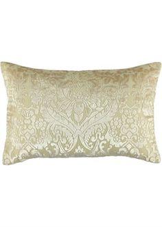Devore Damask Floral Cushion - Matalan.co.uk