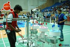 Save the date. Robocon International is on Aug'24 at Balewadi stadium Pune Tech geeks let the countdown begin. #ABURobocon2014, the robotic contest in its 13th year hosted by #MITAOE and Doordarshan is few days away.  Be a part of the mega spectacle, know more at http://www.roboconindia.com