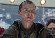 "Young Montgomery ""Scotty"" Scott (Star Trek) in alternate timeline - Simon Pegg"