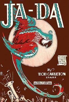 Kiwi's Angels: ja-da by Bob Carleton Sheet Music Cover