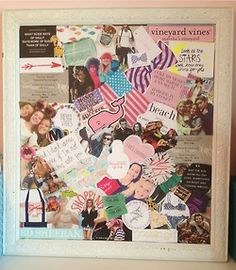DIY collage board