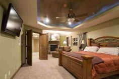 I have always had a small room, so I want a HUGE master bedroom!