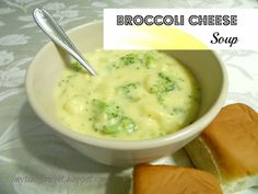 My Table For Eight   {by Jen}: Broccoli Cheese Soup