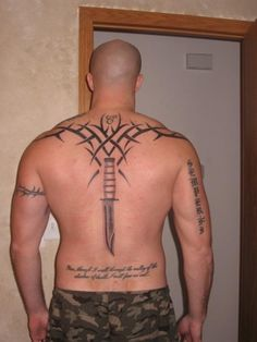 tricep tattoo marine nco sword inspired tattoo ideas pinterest tattoo and tattoo designs. Black Bedroom Furniture Sets. Home Design Ideas