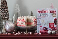 Get inspired by Southern Livings December issue this holiday! Take a look at this beautiful idea http://frostedpetticoatblog.com/2016/12/my-southern-christmas.html #Ad