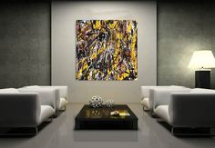 """""""Ministry of art"""" LEVEL 23.  Ny regering, brun og fedtet.  DRIPPING ART BY FINNERMANN"""