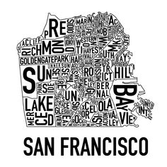 the designer wisely left The Tenderloin out of this map. If were only so easy.