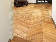 Wooden floor tiles SPINA FRANCESE by MP Parquet Company