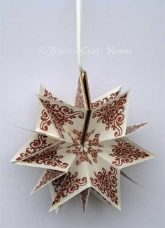 Welcome Back In today's post I would like to share details of how to create the Star Book, I showed you in February. The star Book is a classic structure, with links to origami and also to book bin...