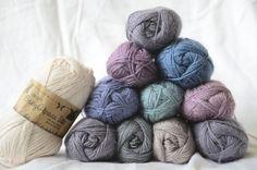 Baby Alpaca Silk Drops Design - <3