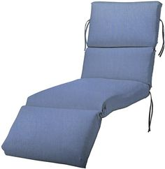 Bullnose Chaise Outdoor Cushion