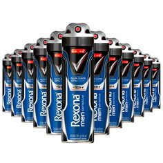 LEVE + PAGUE - : 12 Desodorantes Antitranspirante Aerosol Rexona Sk...