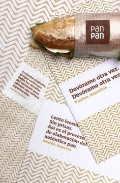 PanPan bakery chain : Rocío Martinavarro #mark #bakery #pattern #branding #word #food #restaurant #corporate #identity