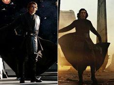 Like grandfather, like grandson #star wars #anakin skywalker #kylo ren