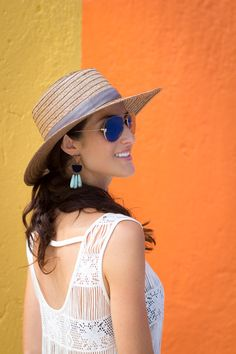 Image Via: Stylin by Aylin in the Naples Drops #Anthropologie