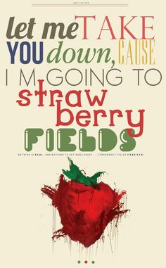 Strawberry Fields Forever by luizbox