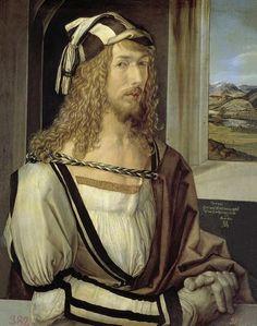 Selfportrait, 1498 by Albert Durero / Museo del Prado, Madrid