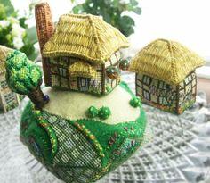 Cross-stitch embroidery kits by Sakoran