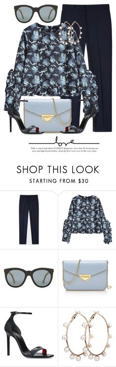 """""""In The Blue"""" by monmondefou ❤ liked on Polyvore featuring Paul Smith, Saint Tropez and Yves Saint Laurent"""
