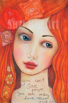 Goddess and the Poet: Suzi Blu Art