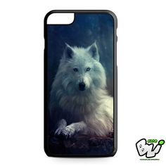 White Wolf Yorkshire Rose iPhone 6 Plus Case | iPhone 6S Plus Case
