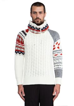 ELEVEN PARIS Viktor Sweater in Off White - Sweaters & Knits