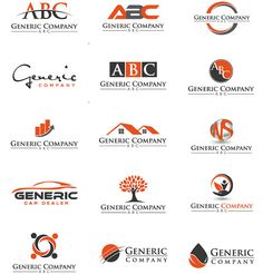 Designers, This Is A Collection Of Generic & Overused Logos You Should Avoid - DesignTAXI.com